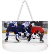 Loose Puck Weekender Tote Bag by Karol Livote