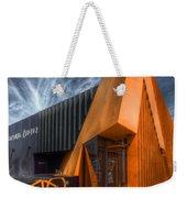 L'orange Facade Weekender Tote Bag