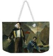 Lord Byron Weekender Tote Bag