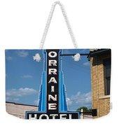 Lorraine Hotel Sign Weekender Tote Bag