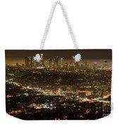Los Angeles  City View At Night  Weekender Tote Bag