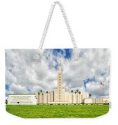 Los Angeles Temple Front Weekender Tote Bag