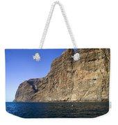 Los Gigantes Cliffs Weekender Tote Bag