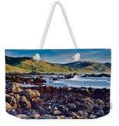 Lost Coast In Winter Weekender Tote Bag