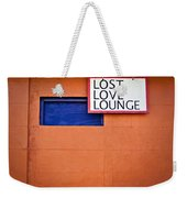 Lost Love Lounge Weekender Tote Bag