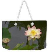 Lotus 1 Weekender Tote Bag