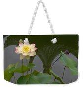 Lotus 2 Weekender Tote Bag