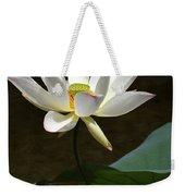 Lotus Beauty Weekender Tote Bag