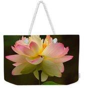 Lotus In The Dark Water Weekender Tote Bag
