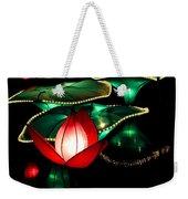 Lotus Lanterns 4 Weekender Tote Bag