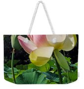 Lotus Lily Standing Tall Weekender Tote Bag