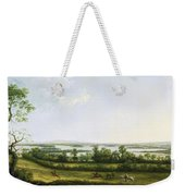 Lough Erne From Knock Ninney - With Bellisle In The Distance Weekender Tote Bag