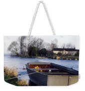 Lough Neagh, Co Antrim, Ireland Boat In Weekender Tote Bag