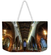 Loughborough Church Ceiling And Nave Weekender Tote Bag