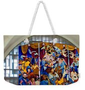 Louis Armstrong Airport Weekender Tote Bag
