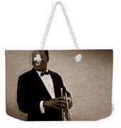 Louis Armstrong S Weekender Tote Bag