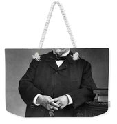 Louis Pasteur, French Chemist Weekender Tote Bag by Omikron