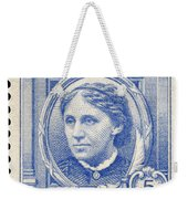 Louisa May Alcott (1832-1888) Weekender Tote Bag