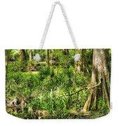 Louisiana Wetland Weekender Tote Bag