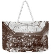 Lounge At The Plaza Hotel Weekender Tote Bag