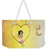 Love Fairy Weekender Tote Bag