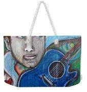 Love For Blue Guitar Weekender Tote Bag