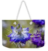 Love In The Mist - Nigella Weekender Tote Bag