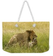 Love In The Wild Weekender Tote Bag