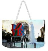 Love Is ..... A Four Letter Word Weekender Tote Bag