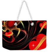 Love Is A Gift From The Heart Weekender Tote Bag