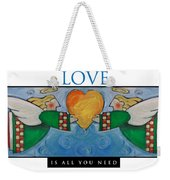Love Is All You Need Poster Weekender Tote Bag