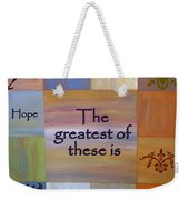 Love Is Everything Weekender Tote Bag
