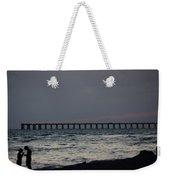 Love On The Beach Weekender Tote Bag