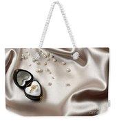 Love Ring Weekender Tote Bag by Carlos Caetano