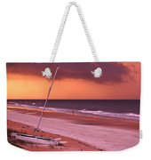 Lovers Embrace On The Shoreline Weekender Tote Bag