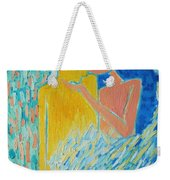 Loving An Angel Weekender Tote Bag by Ana Maria Edulescu