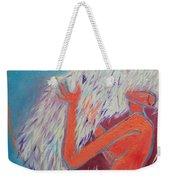 Loving My Angel Weekender Tote Bag by Ana Maria Edulescu