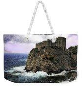 Lovrijenac Tower In Dubrovnik Weekender Tote Bag