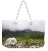 Low Clouds, Quebec Weekender Tote Bag