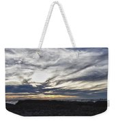 Low Hanging Clouds At Sunset Weekender Tote Bag