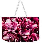 Low Key Pink Azalea Weekender Tote Bag