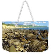 Low Tide At Gaviota Weekender Tote Bag
