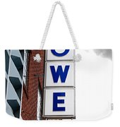 Lowe Drug Store Sign Color Weekender Tote Bag