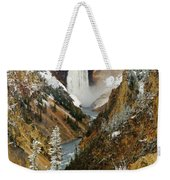 Lower Falls Weekender Tote Bag
