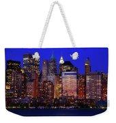 Lower Manhattan Weekender Tote Bag