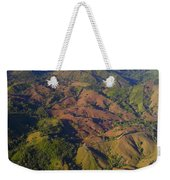 Lowland Tropical Rainforest Cleared Weekender Tote Bag