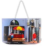 Lucky Dogs - Bourbon Street Weekender Tote Bag