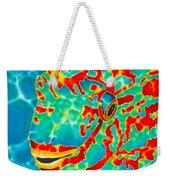 Lucky Parrotfish Weekender Tote Bag by Daniel Jean-Baptiste