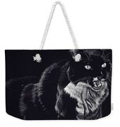 Lucy The Cat Weekender Tote Bag