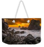 Luffenholtz Winter Sunset 2 Weekender Tote Bag